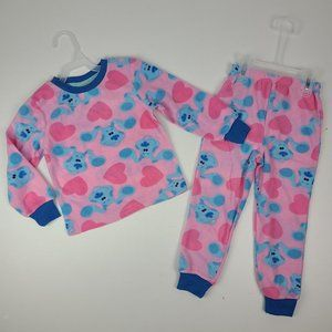 Blues Clues Kids Pajamas Size 4T New With Tag